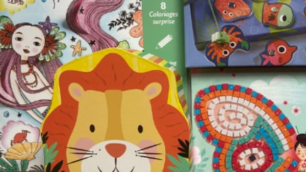 Kids activity packs - puzzles, mosaics and lots of fun